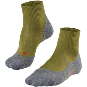 Falke TK5 Short Trekking Socks Men aspengreen